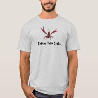 Améliorez que le T-shirt d'écrevisses de crabes