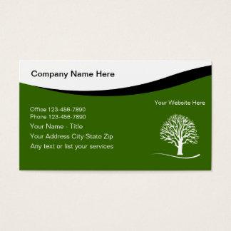 Aménagement des cartes de visite