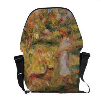 Aménagez en parc avec l'épouse de l'artiste et le  sacoche