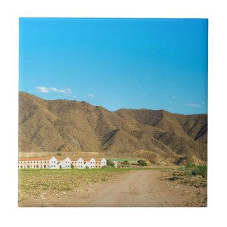 Aménagez le désert en parc à Almeria, Andalousie, Petit Carreau Carré