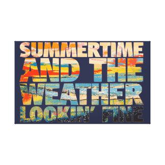 Amende de Lookin de temps d'été Toiles