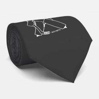 Amenez-lui le gardien de but d'hockey cravates