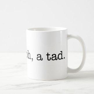 amer ? oh, un peu. tasse