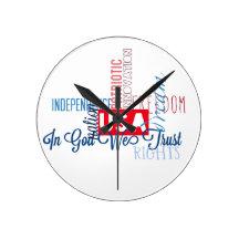 Américain à temps horloges