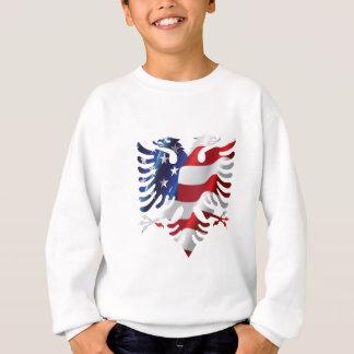 Américain albanais Eagle Sweatshirt