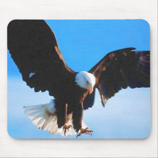 Américain chauve Eagle Tapis De Souris
