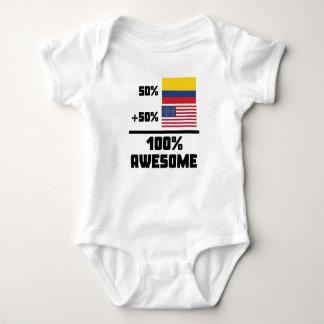 Américain colombien impressionnant body
