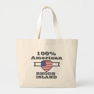 Américain de 100%, Île de Rhode Grand Sac