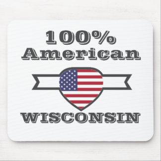 Américain de 100%, le Wisconsin Tapis De Souris