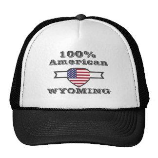 Américain de 100%, Wyoming Casquette De Camionneur