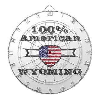 Américain de 100%, Wyoming Jeux De Fléchettes