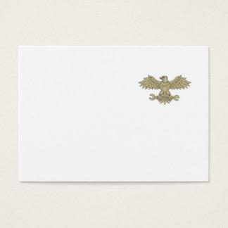 Américain Eagle saisissant le dessin de clé Cartes De Visite
