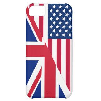 Américain et cas de l'iPhone 5C de drapeau d'Union Coque iPhone 5C