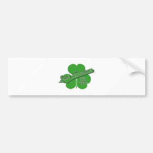 Américain irlandais autocollants pour voiture