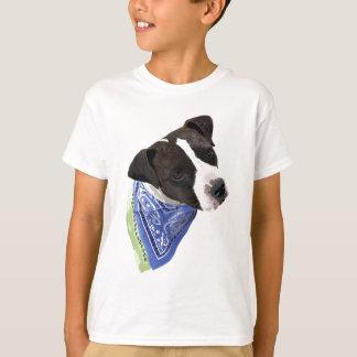 Américain le Staffordshire Terrier-Aggie T-shirt
