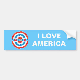 Américain patriote autocollant pour voiture