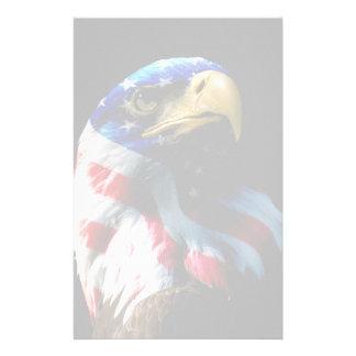Américain patriote Eagle Papier À Lettre Customisable