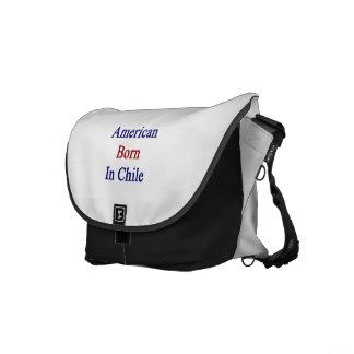 Américain soutenu au Chili Besace