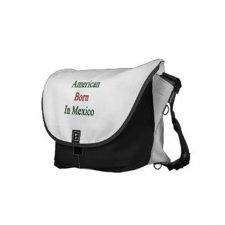 Américain soutenu au Mexique Besaces