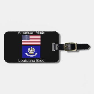 """""""Américain soutenu. La Louisiane a multiplié la"""" Étiquettes Bagages"""