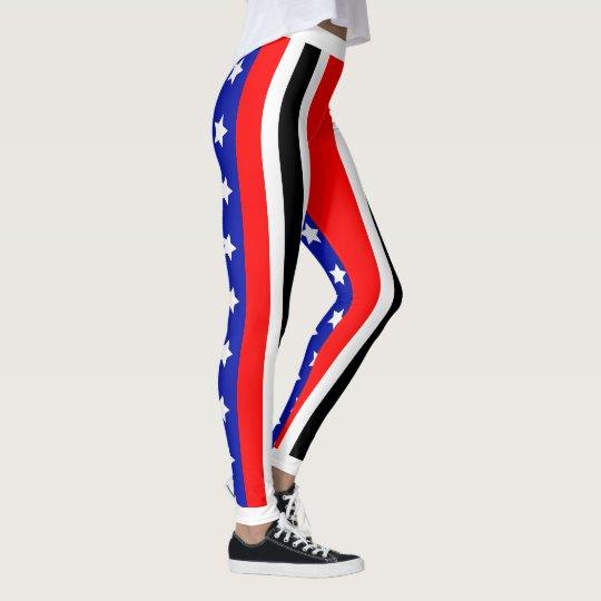 Américain trinidadien leggings