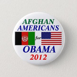 Américains afghans pour Obama Badge