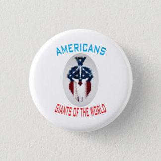 """Américains, Giants bouton rond de monde"""" Badges"""