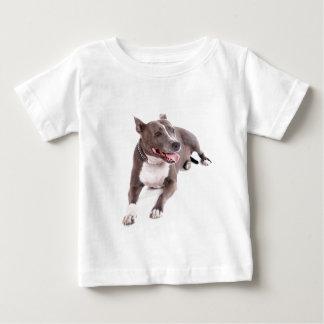 american staffordshire terrier t-shirt pour bébé