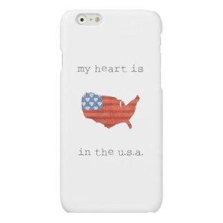 | americana mon coeur est dans la carte des