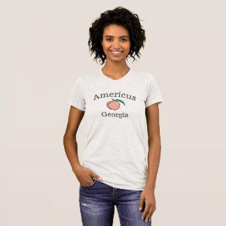 Americus, T-shirt de la Géorgie pour des femmes