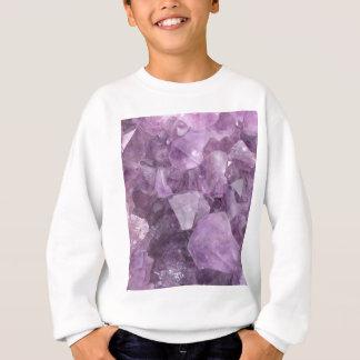 Améthyste violette molle sweatshirt