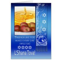 Ami, année juive de Rosh Hashanah nouvelle - L'Sha