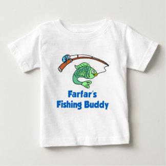 Ami de la pêche de Farfar T-shirt Pour Bébé