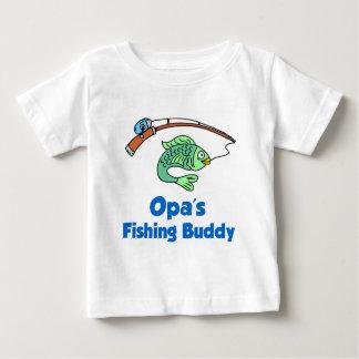 Ami de la pêche d'Opa T-shirt Pour Bébé