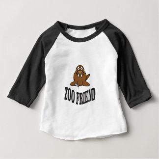 ami de zoo de morse t-shirt pour bébé