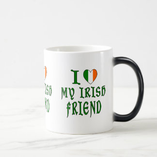 Ami d'Irlandais d'amour Mug Magic