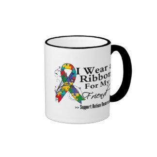 Ami - ruban d'autisme tasse à café