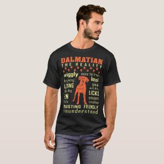 Amical de confiance aimant dalmatien mal compris t-shirt