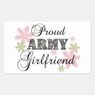 Amie fière d'armée [la Floride c] Sticker En Rectangle