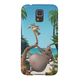 Amies de Gloria et de Melman Coque Pour Samsung Galaxy S5