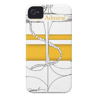 amiral arrière d'or, fernandes élégants coque iPhone 4