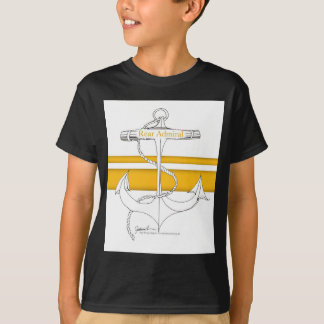 amiral arrière d'or, fernandes élégants t-shirt