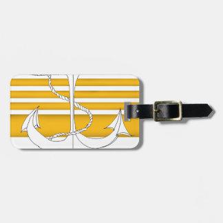 amiral d'or de la flotte, fernandes élégants étiquette à bagage