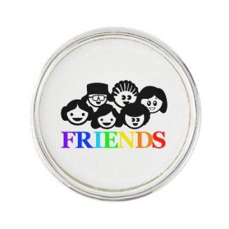 """Amis"" amitié, Pin. de revers Pin's"