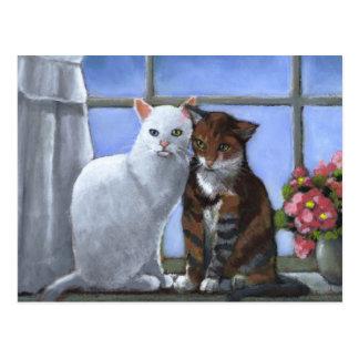 AMIS DE CAT : ART EN PASTEL CARTES POSTALES