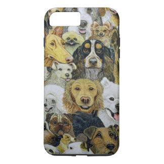 Amis de chien coque iPhone 7 plus