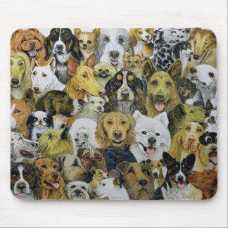 Amis de chien tapis de souris