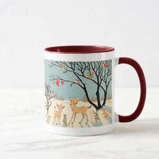 Amis de forêt mug