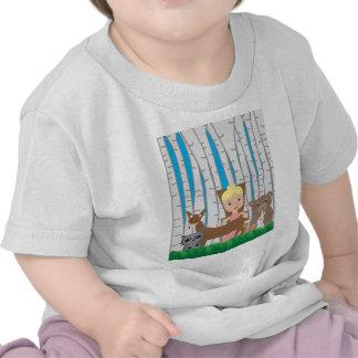 Amis de mère nature et d'animal t-shirts