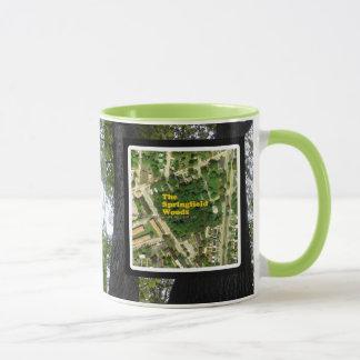Amis des arbres 001 en bois de Springfield Mug